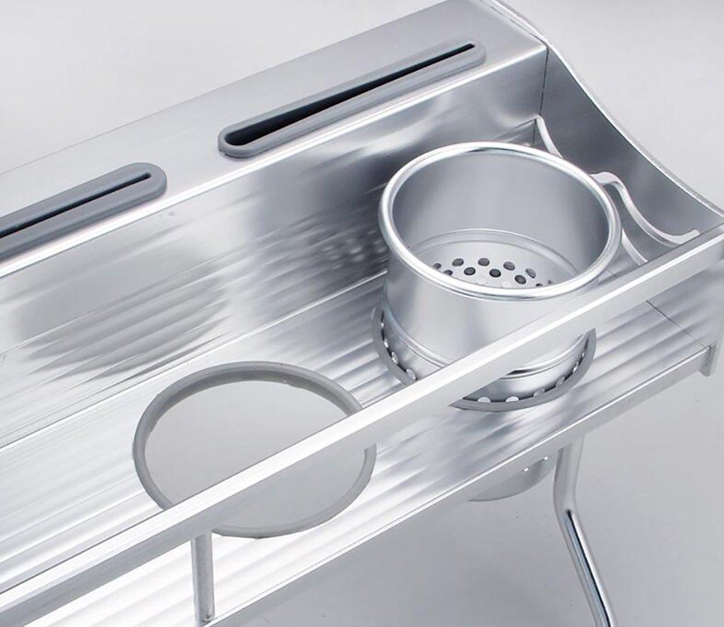 Porte-/épices /Étag/ère de cuisine Assiettes en aluminium Fournitures de cuisine /Étag/ères Montage mural /à une couche Ensemble de finition de cuisine multifonction