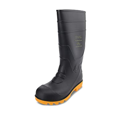 "FAST Official 14"" Women Steel Toe Steel Midsole Safety Boot Work Fishing Flood Snow Shoe: Shoes"