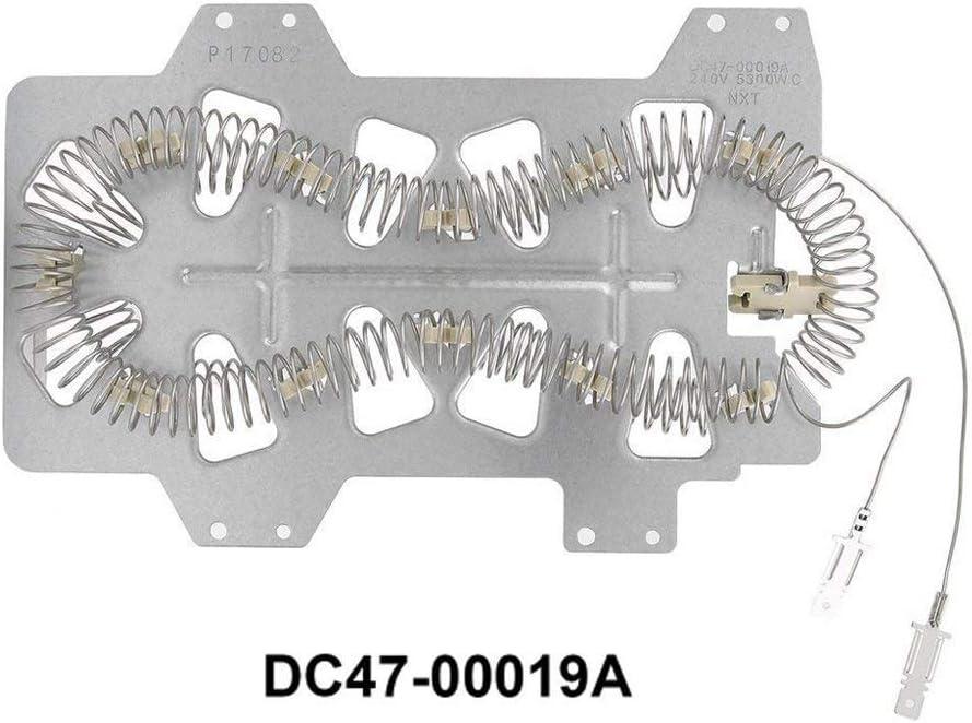 Compatible Dryer Heating Element for Samsung DV42H5200EW/A3-0000, Maytag MDE6700AYW, Samsung DV337AEL/XAA-0000, Samsung DV431AEW/XAA-001 Dryers
