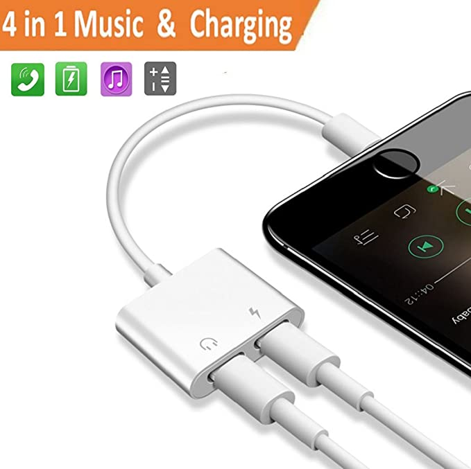 35 opinioni per Adattatore Splitter Lighting per iPhone 7/7Plus iPhone 8/8 Plus iPhone X/10,2