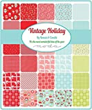 "Vintage Holiday Layer Cake, 42-10"" Precut Fabric"