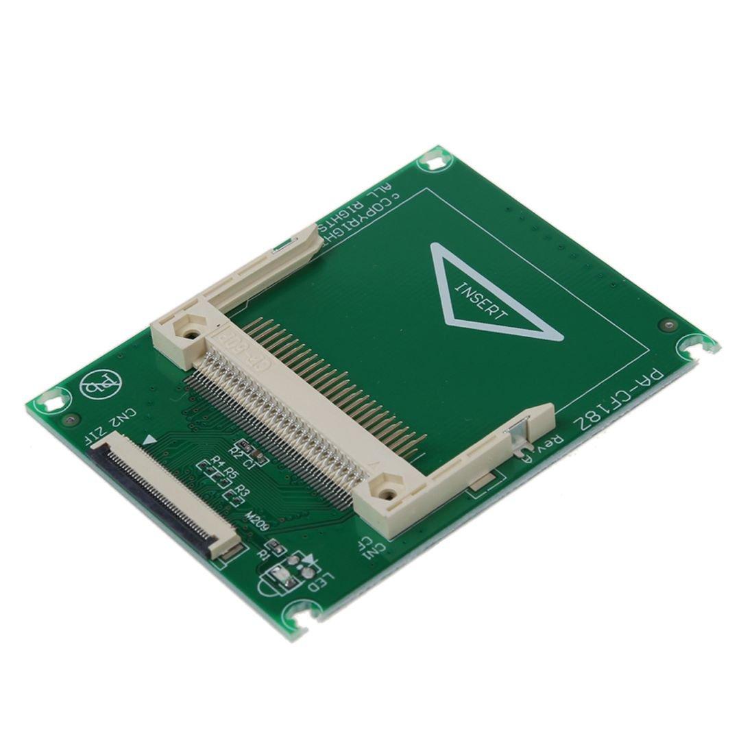 SODIAL(R) Adaptador compacto de Tarjeta CF a 1.8 pulgada ZIF ...