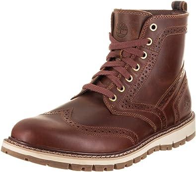 Calígrafo implicar Manifestación  Amazon.com   Timberland Men's Britton Hill Brogue Boot (9.5 D(M) US, Medium  Brown Full Grain)   Boots