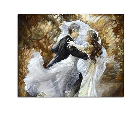 Vestido De Novia Amantes De La Danza Diy Dibujo A Mano