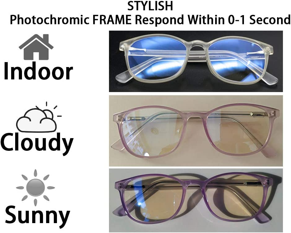 IGUANA CUSTOM CLOTHES Photochromic Clear to Smoked EL CAPO Shatterproof UV400 Lenses with Wind Pad Transparent