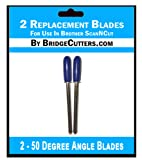 2 Brother ScanNCut Replacement Blades for Craft