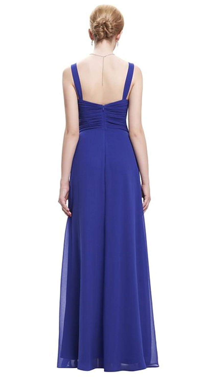 HelloGirls Starzz Sweetheart Sleeveless Chiffon Ball Gown Evening Prom Party Dress: Amazon.co.uk: Clothing