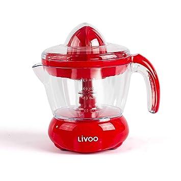 Exprimidor eléctrico de 700 ml, exprimidor de frutas con boquilla (exprimidor, zumo de