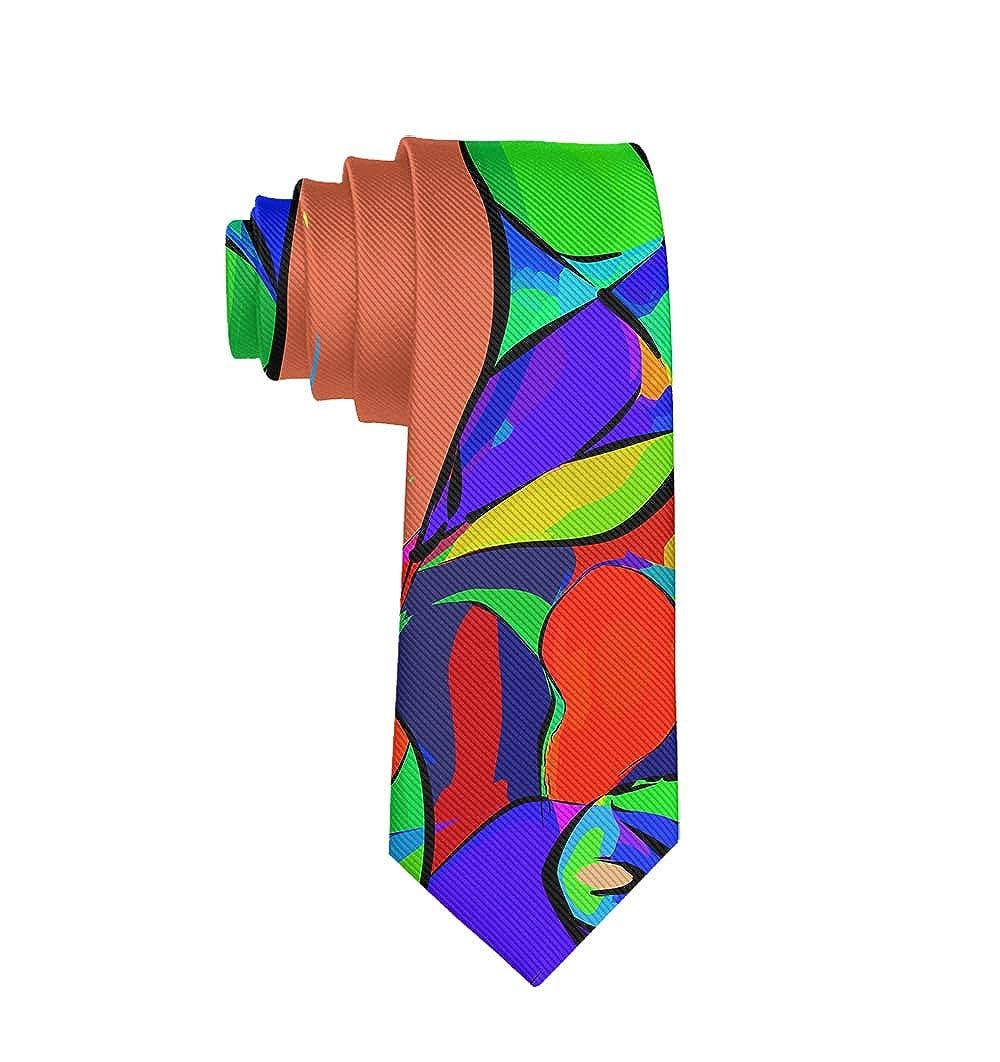 Fashion 3D Printed Mens Ties Neckties Gift for Men Teens Boys