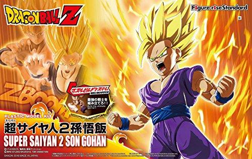 Bandai Hobby Figure-Rise Standard Super Saiyan 2 Son Gohan ''DRAGON Ball Z'' Building Kit by Bandai Hobby (Image #13)