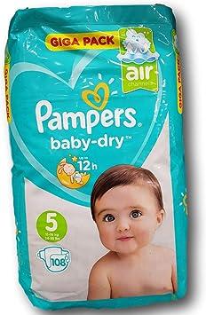 Pampers 81657822 - Baby-dry pañales, unisex: Amazon.es: Salud y cuidado personal