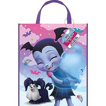 Unique Industries Disney Vampirina Plastic Party Favor Tote ...