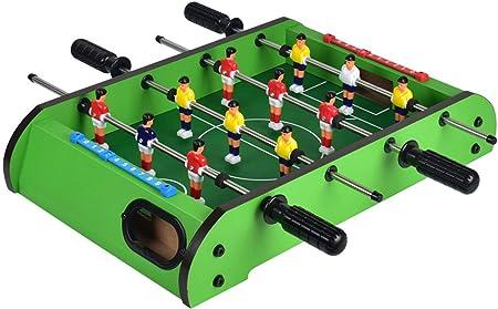 YUHT Futbolín Infantil,Mesa De Futbolín, Mesa De Billar Mini Juego ...