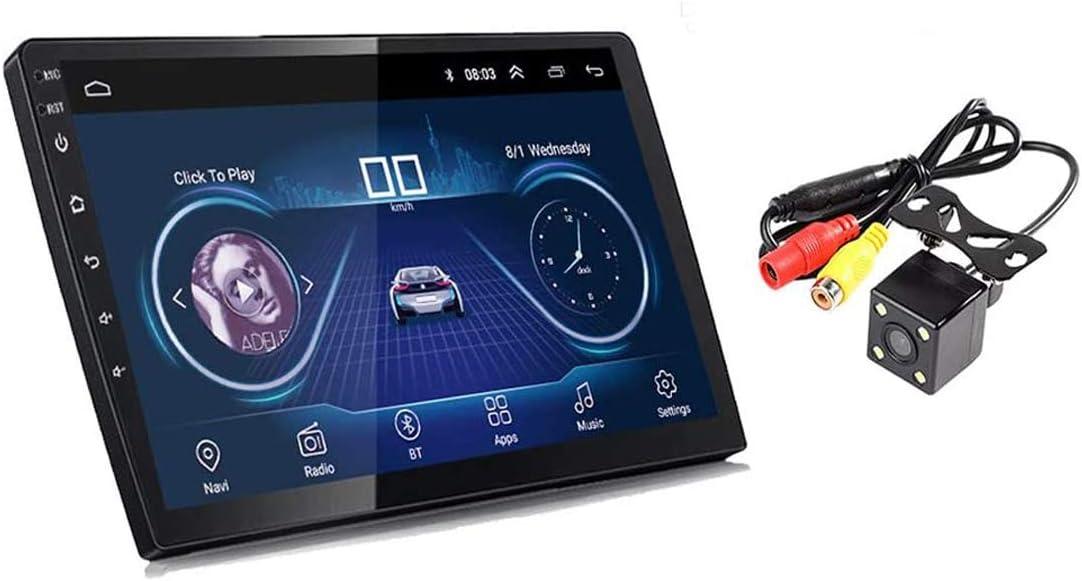GOFORJUMP 10 Pulgadas Android 8.1 Universal Car Radio Android Car Radio Player GPS NAVEGACIÓN WiFi Bluetooth MP5 Player con cámara de visión Trasera