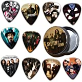 System Of A Down 10 X Guitar Plectrums & Tin ( Ltd. To 100 )