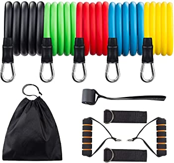 Redess Portable Home Gym Accessories Resistance Bands Set