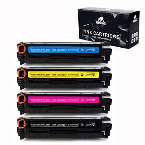 3 PK CRG131 For Canon 131 Toner imageCLASS LBP-7100CN MF628Cw MF8280Cw MF624Cw