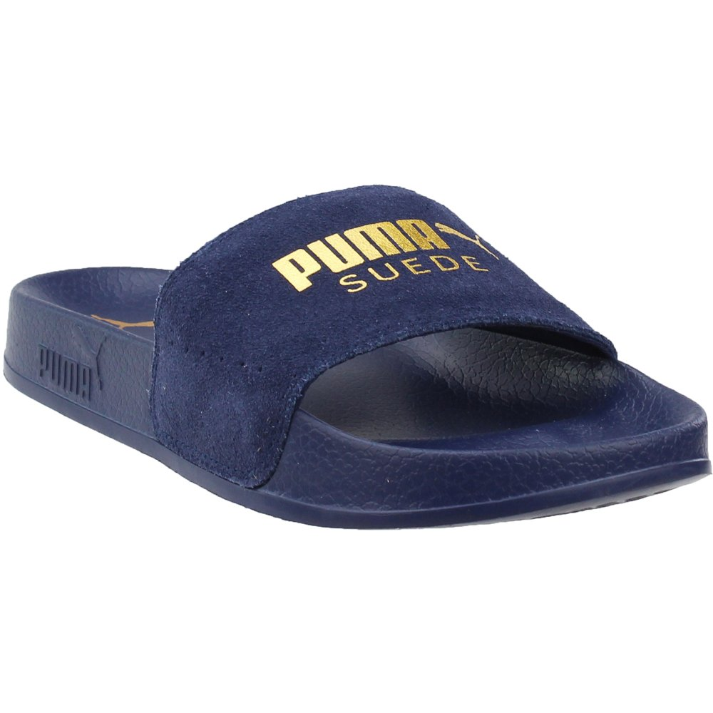 PUMA Men's Leadcat Suede Slide Sandal 365758 05