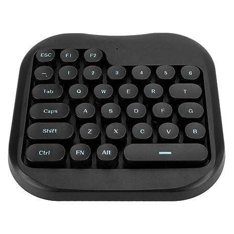 Bewinner Mini Teclado de una Mano, Teclado para Juegos USB para PUBG ...