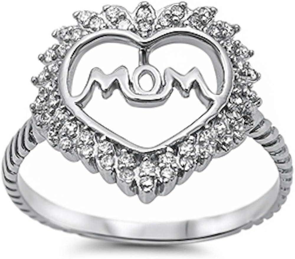 Oxford Diamond Co Princess Cut Black Onyx /& Cubic Zirconia .925 Sterling Silver Ring Sizes 4-12