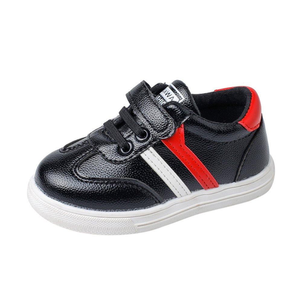 Chaussures Bébé Binggong Chaussures Enfants Mode Sneaker Enfants Garçons Filles En Cuir Casual Running Chaussures De Sport Clean Baskets Basses Mixte