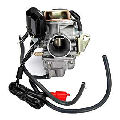 INNOGLOW 1PC Motorcycle Carburetor 150cc for Scooter Roketa SUNL Go Kart FREE Filter GY6 GY6 Carb 150cc PD24: Automotive