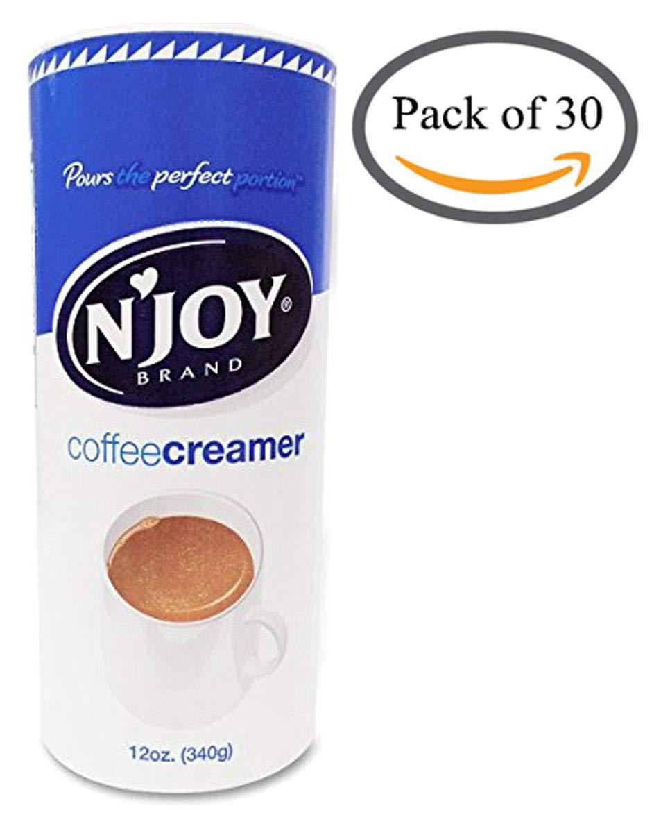 N'Joy SLTYGJ Coffee Creamer, Non Dairy, 12 Ounce 24 Pack