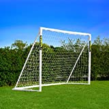 Net World Sports 8' x 6' FORZA Football Goal Locking Model - [The ONLY GOAL That can be left outside in any weather] (8 x 6 FORZA Goal (Locking))