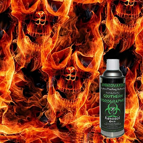hydrographic-film-water-transfer-printing-hydro-dipping-6oz-activator-with-flaming-fire-skull-kit