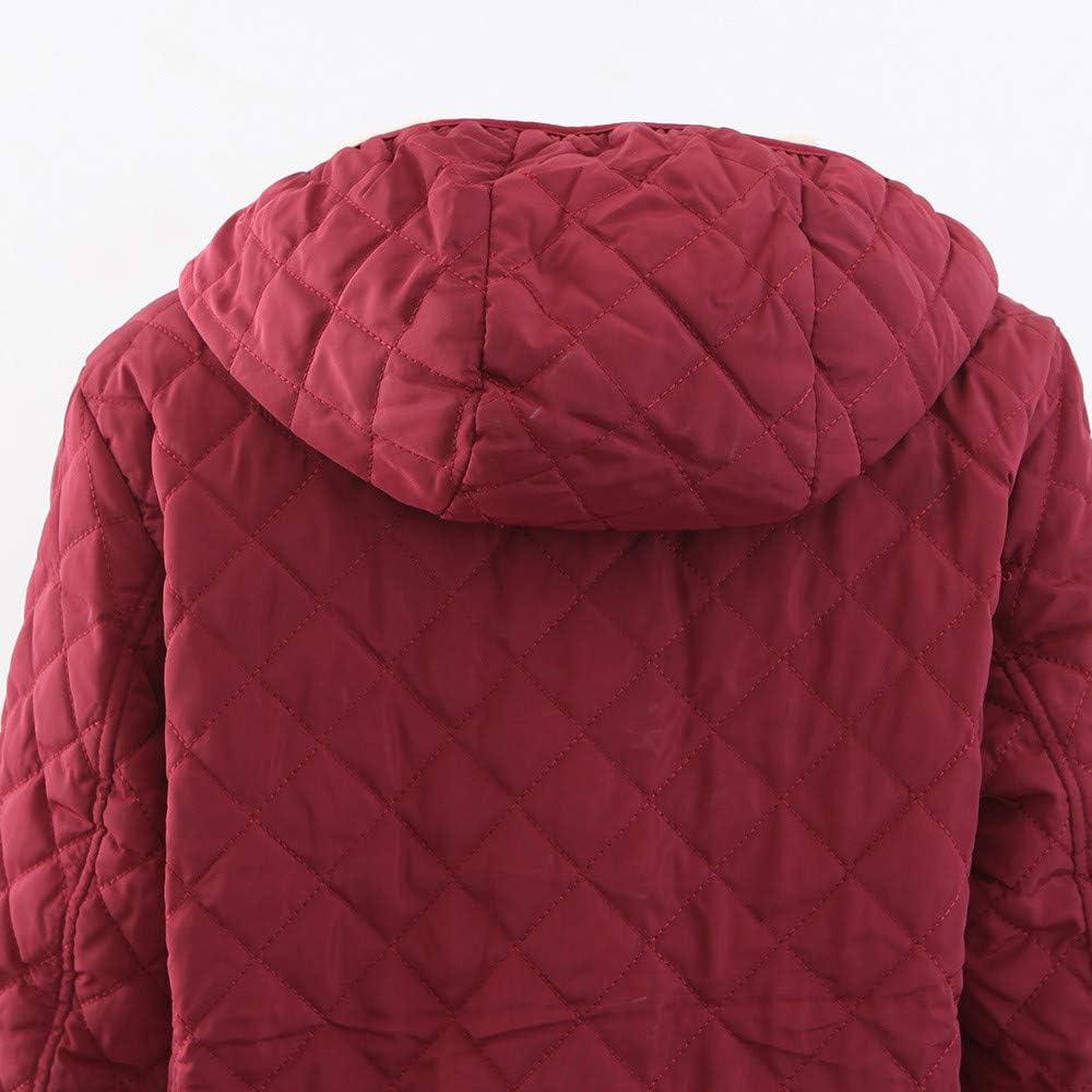 Franterd Cotton Suit Womens Zipper Pockets Warm Solid Jacket Fluffy Lining Vintage Oversize Coat