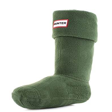 Hunter Kids Green Wellington Welly Boot Socks Size 3-5