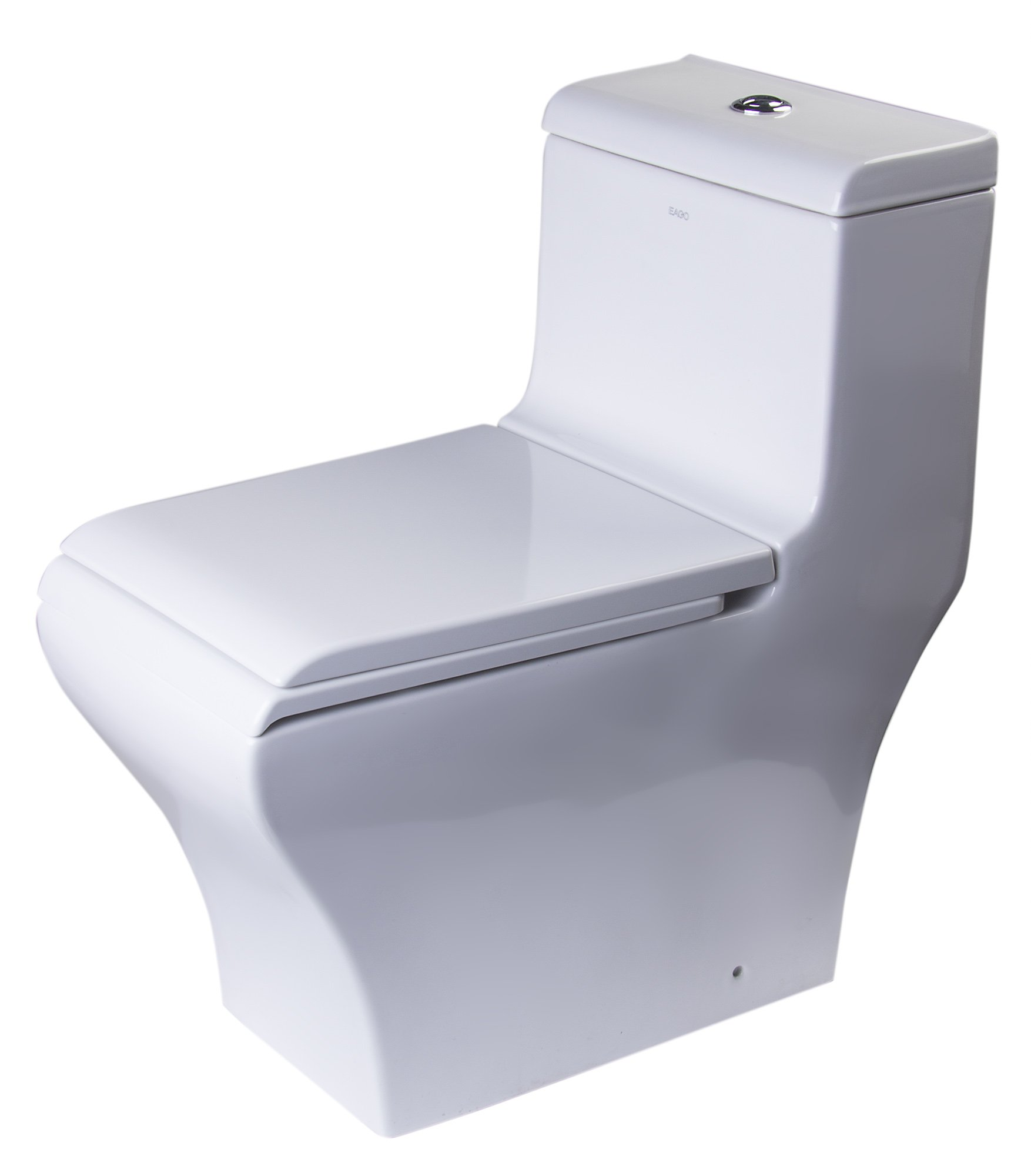 EAGO TB356 Dual Flush  Eco-Friendly Ceramic Toilet, 1-Piece