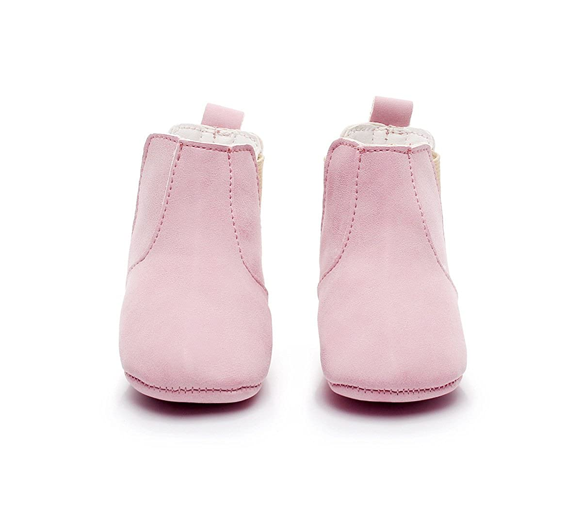FLT Toddler Ankle Chelsea Boots Booties Baby Girl Boy Leather Booties First Walkers Shoes