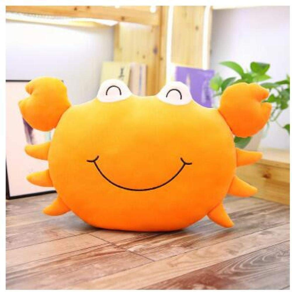 Bayue Cartoon Smiley Soothing Plush Doll Soft Pillow Creative Girl Funny Birthday Gift Prize Plush Toy Zhaozb (Color : Orange) by Bayue