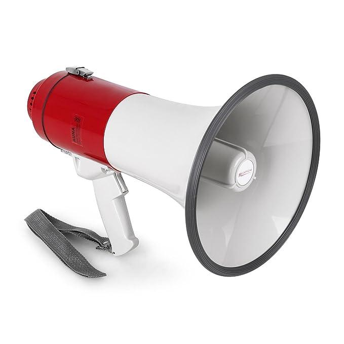 29 opinioni per Auna Megafono microfono a condensatore (25W, Raggio d'azione 600m, Funzionamento
