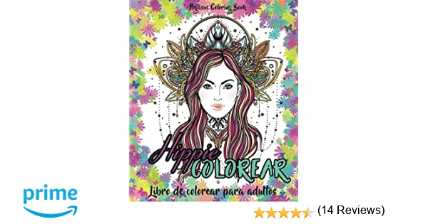 Dorable Hippie Para Colorear Libro Motivo - Ideas Para Colorear ...
