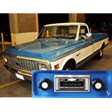 1967-1972 Chevrolet Truck USA-630 II High Power 300 watt AM FM Car Stereo/Radio with iPod Docking Cable