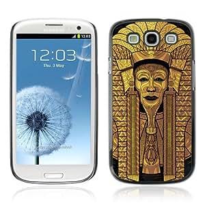 Designer Depo Hard Protection Case for Samsung Galaxy S3 / Cool Egyptian Pharaoh Art