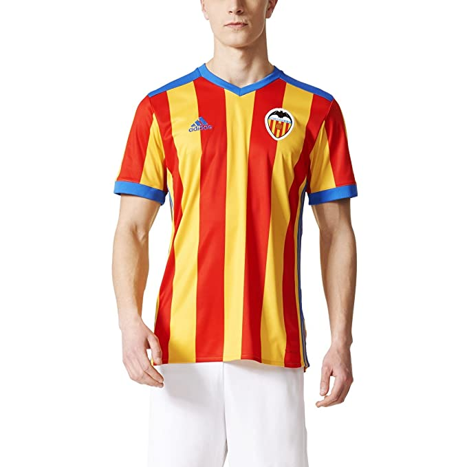 Amazon.com: adidas Mens Soccer Valencia CF Away Jersey ...