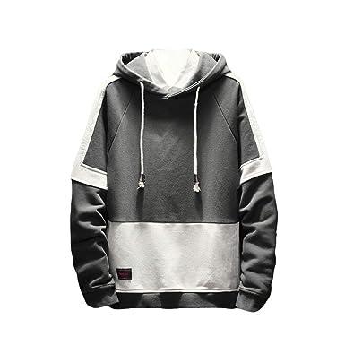 Logobeing Sudaderas con Capucha Hombre Hoodie Otoño Invierno Suéter Chaqueta de Abrigo Hooded Tops Moda 2018: Amazon.es: Ropa y accesorios