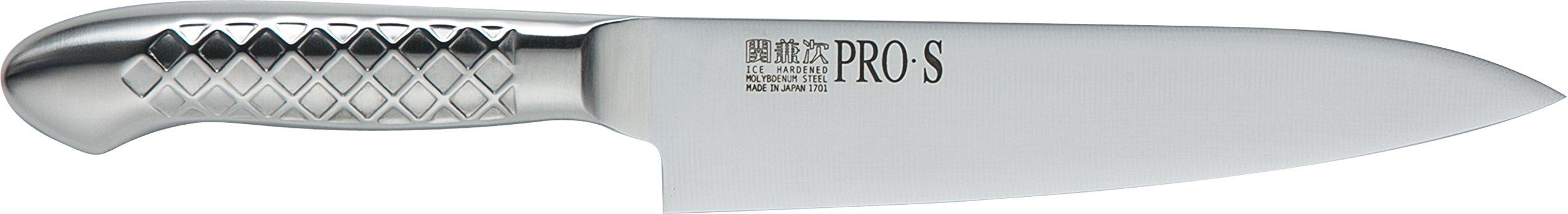 関兼次 Seki Kenji Hamono Japanese Knife Kitchen Knife PRO Molybdenum Steel Stainless Steel Made in Japan (Beef Sword 180mm, PRO · S)