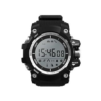 Cebbay Reloj Inteligente rastreador de Fitness para Correr, Senderismo y Escalada,Reloj Corriendo Presión Arterial Cámara Remota para Android e iOS: ...
