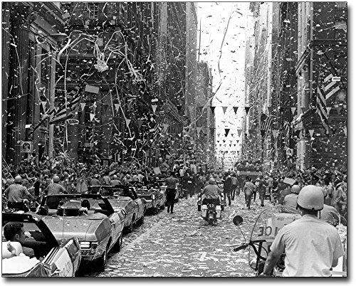 Apollo 11 Ticker Tape Parade Chicago 8x10 Silver Halide Photo Print