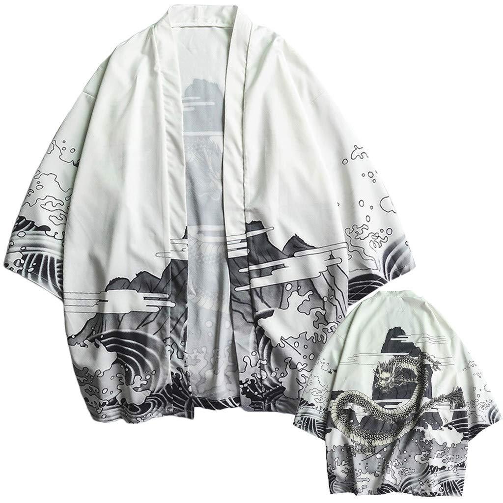Camicia Uomo Fashion Lovers Individuality Print Top Camicetta Kimono Hot Spring Clothing Felpe