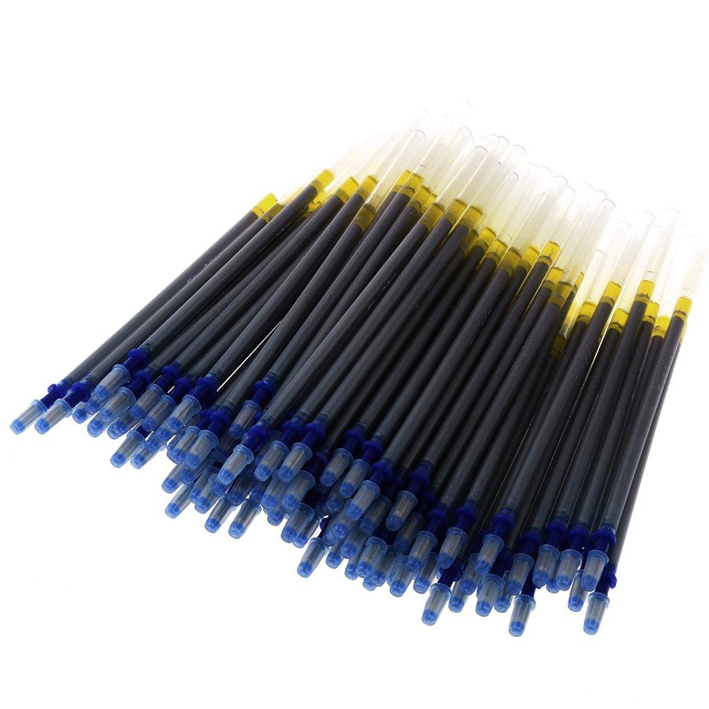 MagiDeal 100 St/ück Markierung Stift Nachf/üll Leder Werkzeuge f/ür Leder Handwerk Silber
