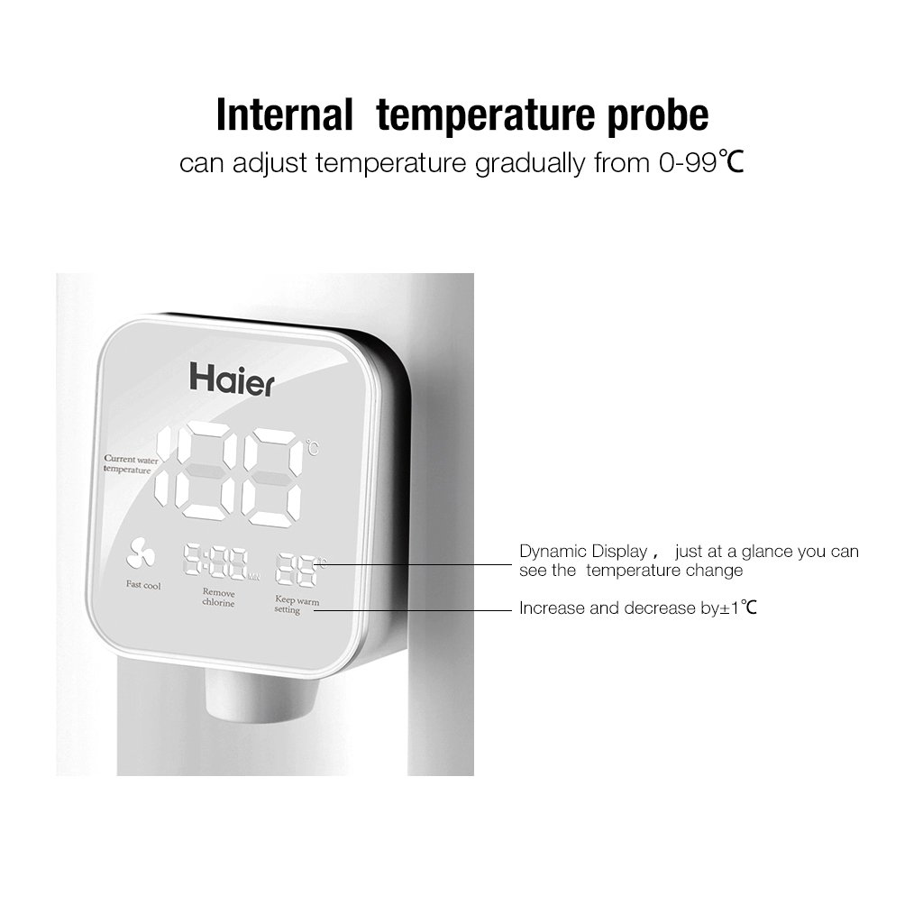 Amazon.com : Haier Electric Baby Milk Boiler Thermostat Automatic ...