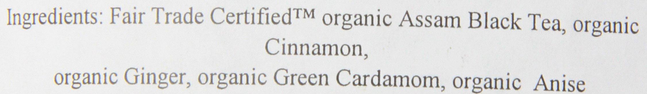 Numi Organic Tea Golden Chai, 16 Ounce Pouch (Pack of 6), Loose Leaf Black Tea by Numi Organic Tea (Image #2)