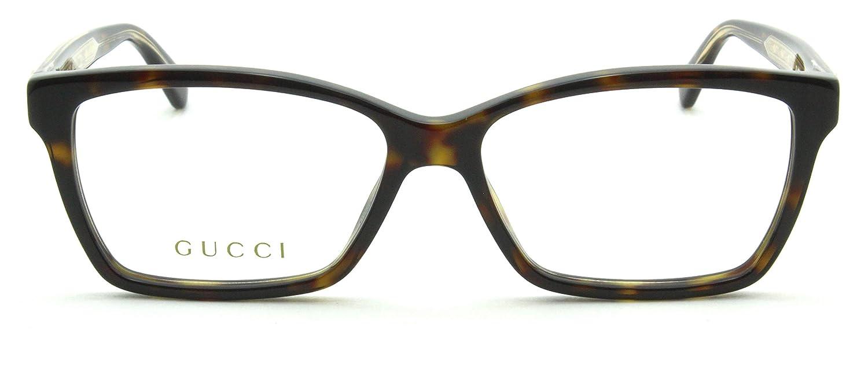 d0ddabc7a38 Gucci GG 0312-O Optical Havana Prescription Eyeglasses Frame