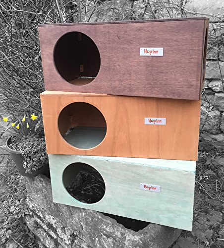 Hop-Inn-Rabbit-Hideaway-Tunnel-Cat-House-Hideaway-for-Indoor-or-Outdoor-LARGE-24-L-x-12-W-x-10-H