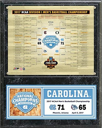 UNC North Carolina Tar Heels 2017 NCAA Basketball Championship Photo Plaque (Size: 12